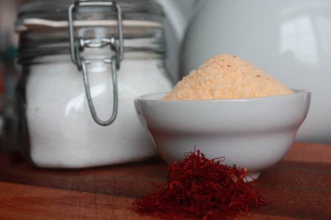 Saffron Infused Sea Salt
